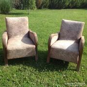 2 db.art deco fotel