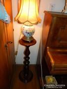 Fa posztamens / konzol , szobortartó oszlop