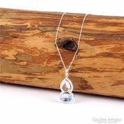 Csodálatos kristály medál és extra hosszú lánc