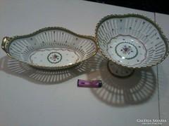 Empire! 2db.ÓRIÁSI! Antik! 35x25cm! Francia Limoges porcelán
