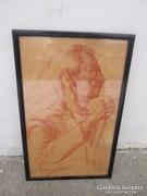 Kmetty szír  .portré.