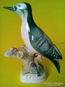 Zsolnay madár  figura
