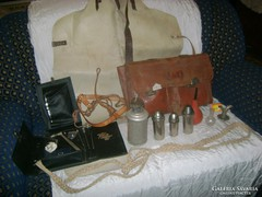 Régi állatorvos, állatorvosi eszközök - hagyatékból