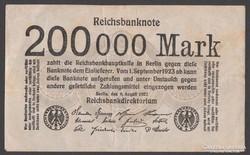 1923. 200 ezer Reichsmark