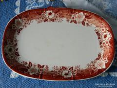 Antik, gyűjtői Ronnefeldt Teaház porcelán tál, kínáló