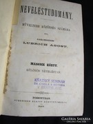Garamszegi L. Ágost : NEVELÉSTUDOMÁNY MŰVELTEBB II.-III.1868