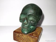 Különleges koponya szobor!