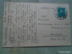 D145949  PÉCS  - képeslap  1933  Marsovszky Klári