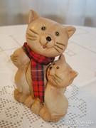 Kerámia macska család