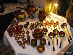 Kézi festésű orosz gyűjtemény