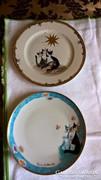 Goebel Rosina macskás tányérok