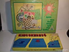 2 db retro régi társasjáték a kincskereső