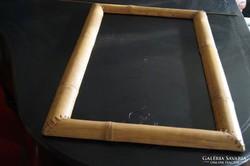 Képkeret bambuszból