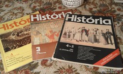 HISTÓRIA 3 db. füzet. Tegyen ajánlatot!!!