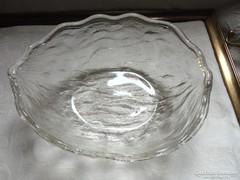 Fél dió alakú üveg kínáló