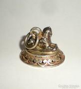 Régi ezüst szfinx medál