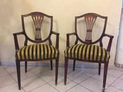 Hepplewhite szék 2db