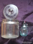 Fedeles üvegdoboz+olajos üveg