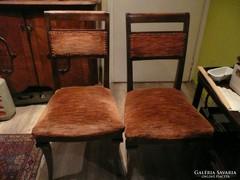 2 db gyönyörű szecessziós szék eladó szép állapotban