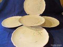 5 db winterling Röslau süteményes tányér A048