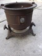 Viktoriánus Korai olaj petróleum melegítő  tűzhely kályha