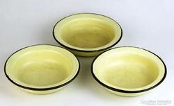 0K621 Zománcozott fém tányér 3 darab
