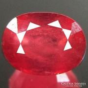 1,82 ct madagaszkári rubin drágakő