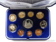Olaszország 2009 - Tükörveretes EURO sor ezüst 5 EURO-val