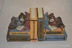 2 db Teddy macis könyvtámasz ( DBZ 0068 )
