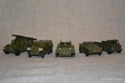 Orosz katonai járművek 5 db