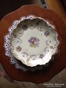 Ludwigsburgi porcelán - kínáló tál (asztalközép)
