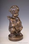 Bory Jenő bronz szobor