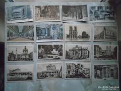 D146289   16 db régi külföldi képeslap 1900-as évek eleje