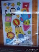 ÖntapadósFalikép-matrica-poszter-plakát gyerekszobai 60x45 cm