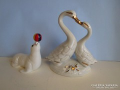2 db svájci finom porcelán hibátlanok