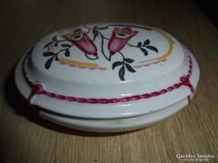 Zsolnay pajzs pecsétes porcelán bonbonier