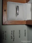 Caprice fehér arany női gyűrű