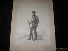 Luois Rousseau    Francia rézkarc  1848