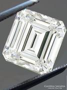 VVSI tisztaságú labor gyémánt azaz moissanit 1,4 ct