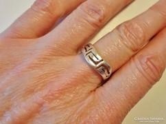 Szép régi  ezüstgyűrű