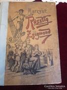 Rüsztig Zsigmond : A BRÉMAI KORMÁNYOS UJ ROBINSON 1900