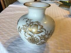 Gyönyörűséges Zsolnay porcelán váza, ritkaság