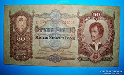 50 PENGŐ 1932