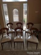 Empir kivehető párnás 6 db szék