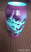 Kispest, ritka art deco váza