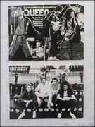 Retro Queen együttes fotó 2 darab