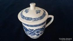 Kínai fedeles csésze bögre exklusiv