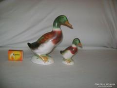 Kerámia kacsa figura - két darab