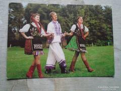 D146682  Buzsák  - népviselet - képeslap