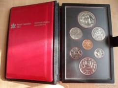 Canadai forgalmi sor ezüsttel 1979